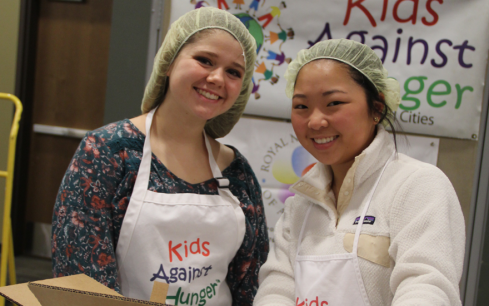 Read more about College chapters feed the hungry