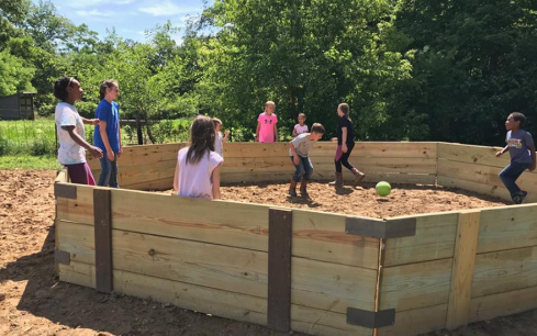 Read more about Gaga Ball Brings Families Together at Riding Camp: Difference Maker Fund